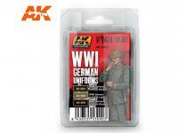Uniformes Alemanes WWI (Vista 2)