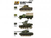 US ARMY & USMC Colores verdes (Vista 4)