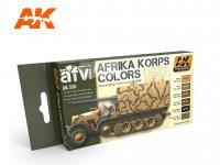 Afrika Korps Color Set (Vista 3)