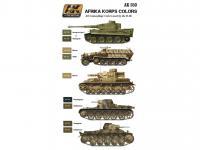 Afrika Korps Color Set (Vista 4)