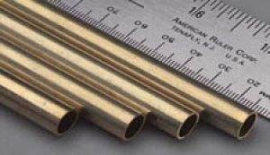 Tubo Redondo de laton -  3,0 x 0,45 mm  (Vista 1)