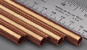 Tubo Redondo de cobre - í˜.1,0 x 0,25 mm  (Vista 1)