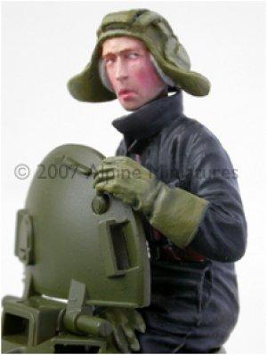 Carrista Soviético - Guerra Fría.  (Vista 3)