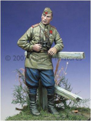 Oficial Ruso IIGM  (Vista 3)