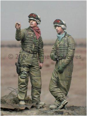 Tripulación USA en Irak  (Vista 2)