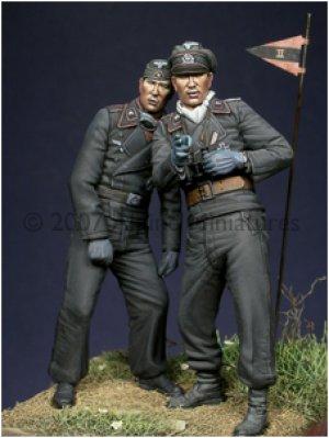 Carristas Alemanes IIGM - Ref.: ALPI-35028