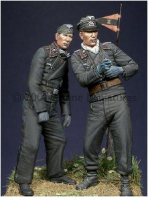 Carristas Alemanes IIGM  (Vista 2)