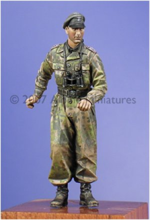 Oficial Carro Waffen SS  (Vista 1)