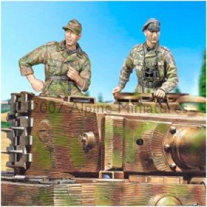 Carristas Waffen SS  (Vista 2)