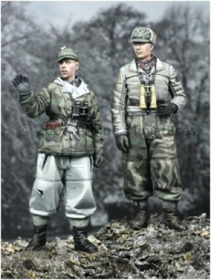 Dotacion Panzer  Invierno  (Vista 1)