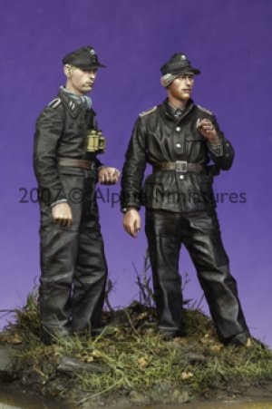 Late War WSS Panzer NCO Set (2 Figs)  (Vista 2)