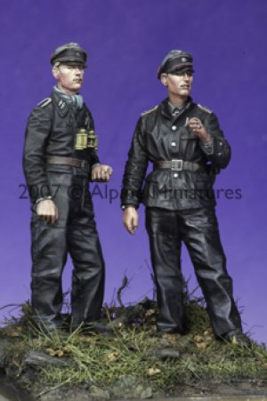Late War WSS Panzer NCO Set (2 Figs)