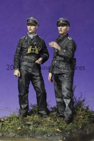 Late War WSS Panzer NCO Set (2 Figs)  (Vista 4)