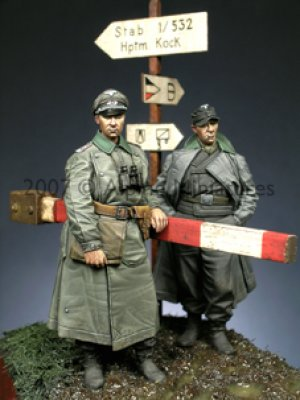Oficiales Alemanes - Ref.: ALPI-35056