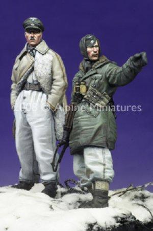 SS Officers LAH Kharkov Set #2 (2 figs)  (Vista 1)