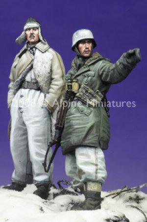 SS Officers LAH Kharkov Set #2 (2 figs)  (Vista 2)