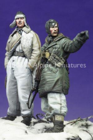 SS Officers LAH Kharkov Set #2 (2 figs)  (Vista 3)