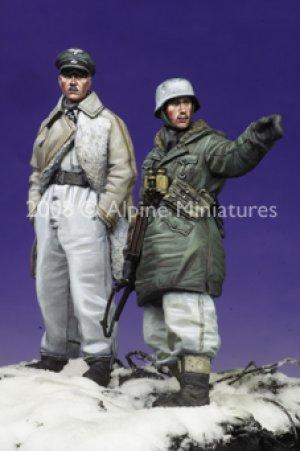 SS Officers LAH Kharkov Set #2 (2 figs)  (Vista 4)