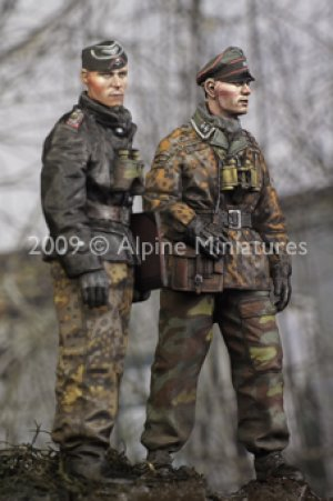 LAH Officers in the Ardennes