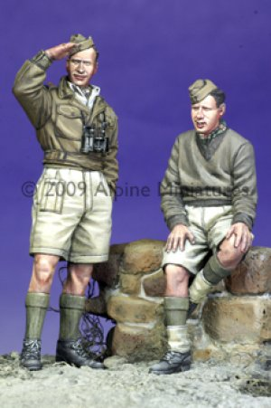 British Armoured Crew Set  (Vista 1)