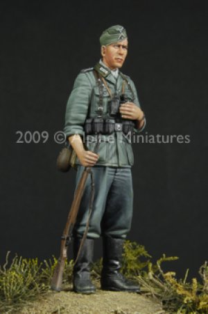 German Infantry NCO  (Vista 1)