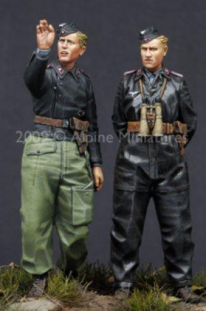 German Heer Panzer Crew Set  (Vista 1)
