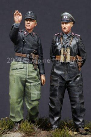 German Heer Panzer Crew Set  (Vista 3)