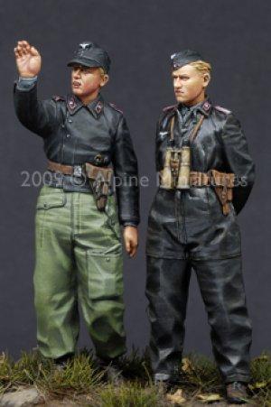German Heer Panzer Crew Set  (Vista 4)
