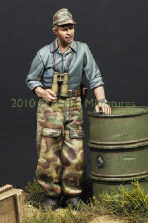 German Panzer Crew in Summer  (Vista 4)