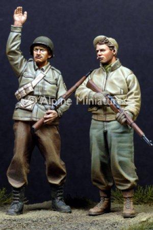 Infantería USA, II Guerra Mundial.   (Vista 1)