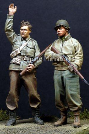 Infantería USA, II Guerra Mundial.   (Vista 2)