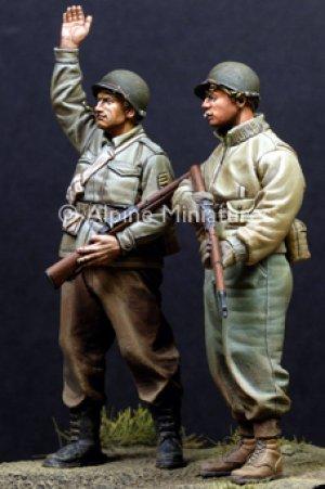 Infantería USA, II Guerra Mundial.   (Vista 3)