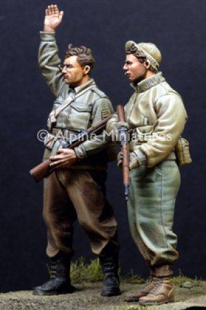Infantería USA, II Guerra Mundial.   (Vista 4)
