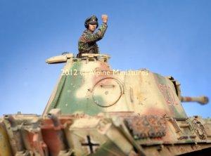 WSS Panzer Commander #1  (Vista 1)