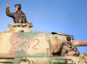 WSS Panzer Commander Set  (Vista 1)