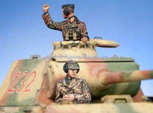 WSS Panzer Commander Set  (Vista 2)