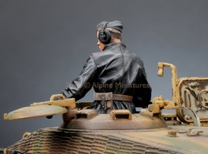 SS Panzer Commander Nº2  (Vista 2)