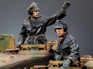 SS Panzer Commander Set  (Vista 1)