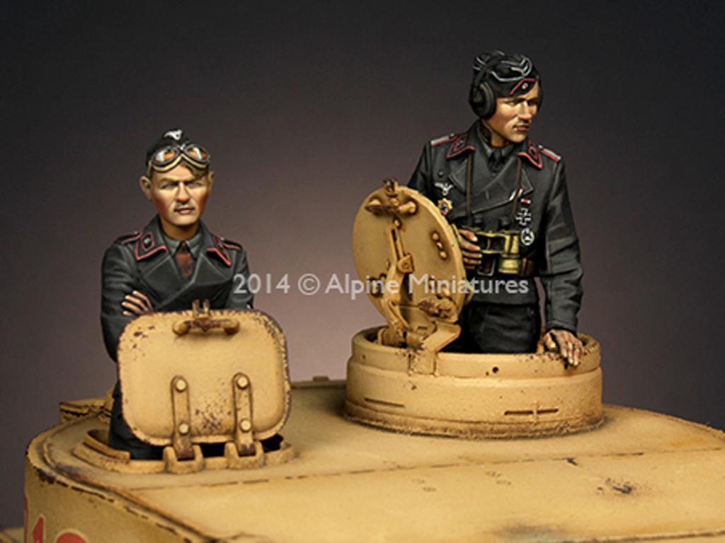Panzer Commander Set   (Vista 1)