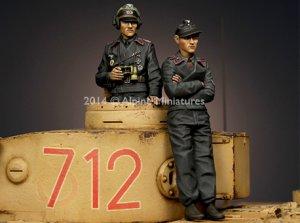 Panzer Commander Set   (Vista 4)