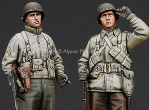 WW2 US Infantry Set  (Vista 1)