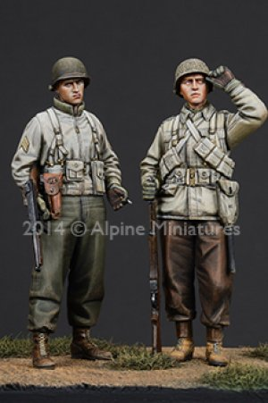 WW2 US Infantry Set  (Vista 2)