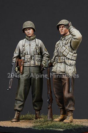 WW2 US Infantry Set  (Vista 3)