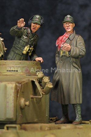 DAK AFV Commander Set  (Vista 4)