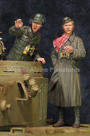 DAK AFV Commander Set  (Vista 5)