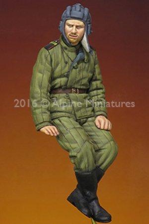 Tanquista Ruso WWII  (Vista 1)