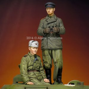 Tanquistas Rusos WWII set  (Vista 4)