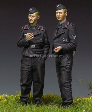 German Panzer Crew Set   (Vista 3)