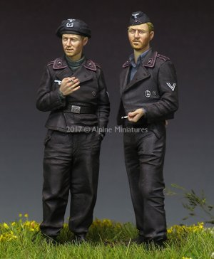 German Panzer Crew Set   (Vista 4)