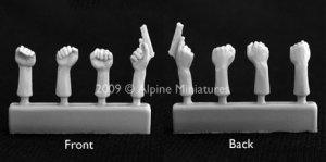 Cabezas y manos  (Vista 5)